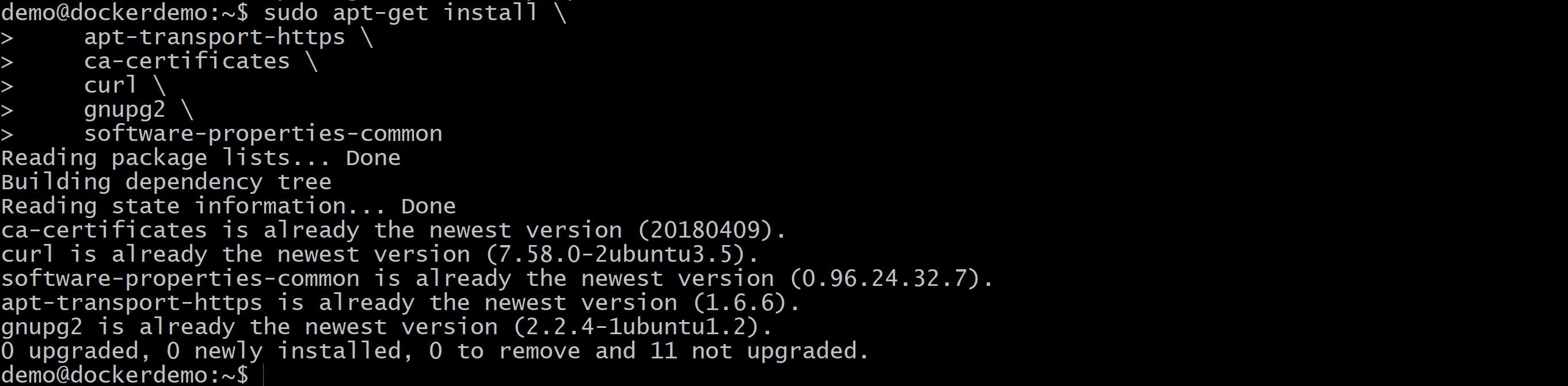 Docker Ubuntu Azure zdj.23