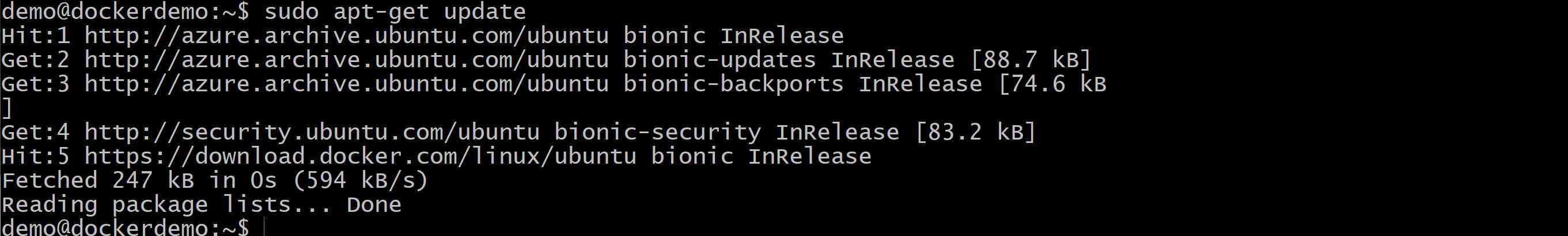 Docker Ubuntu Azure zdj.27