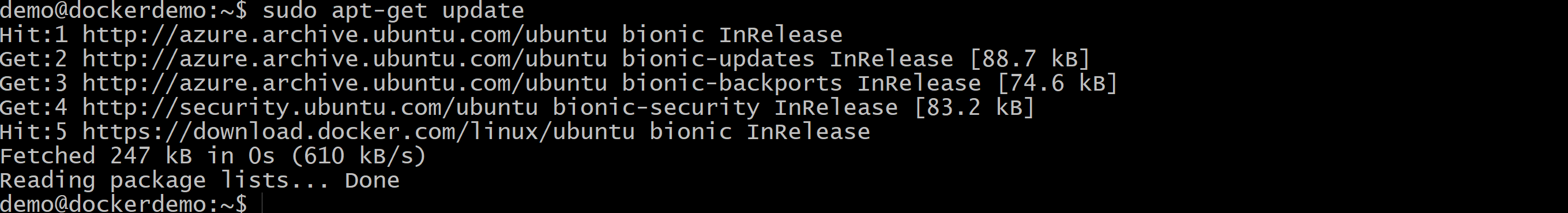 Docker Ubuntu Azure zdj.29