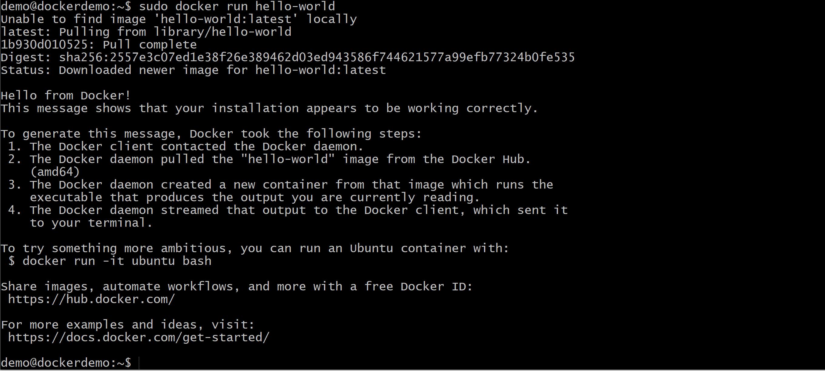 Docker Ubuntu Azure zdj.31