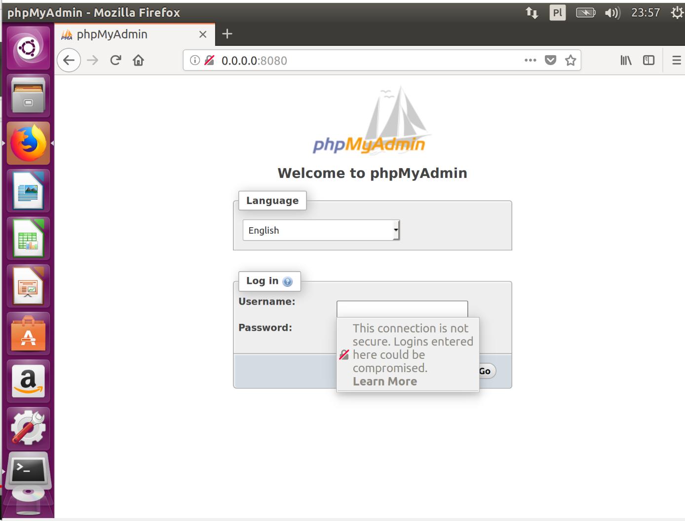 Docker i phpMyAdmin zdj.11