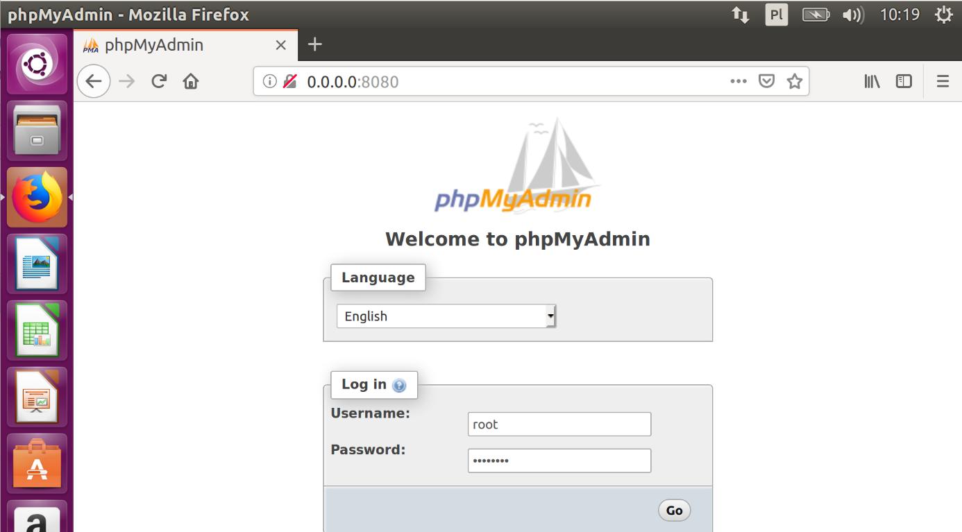Docker i phpMyAdmin zdj.12