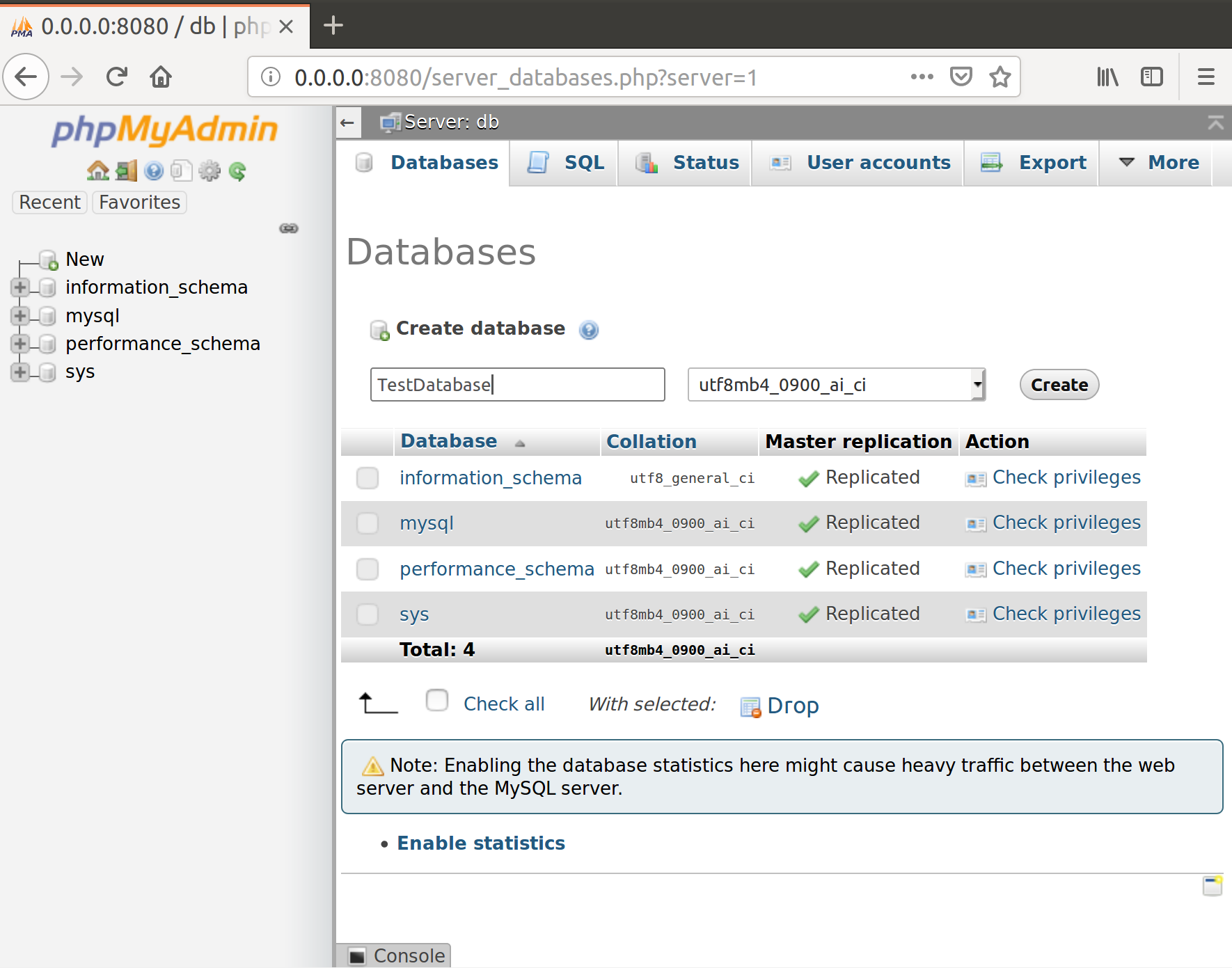 Docker i phpMyAdmin zdj.14