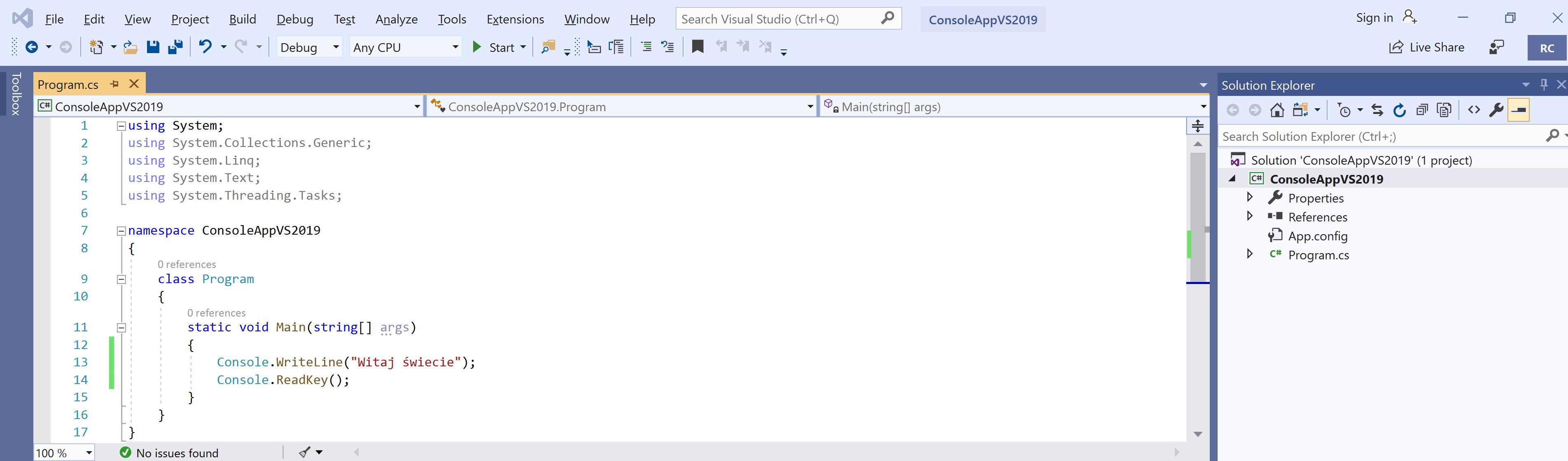 Instalacja Visual Studio 2019 Community Edition
